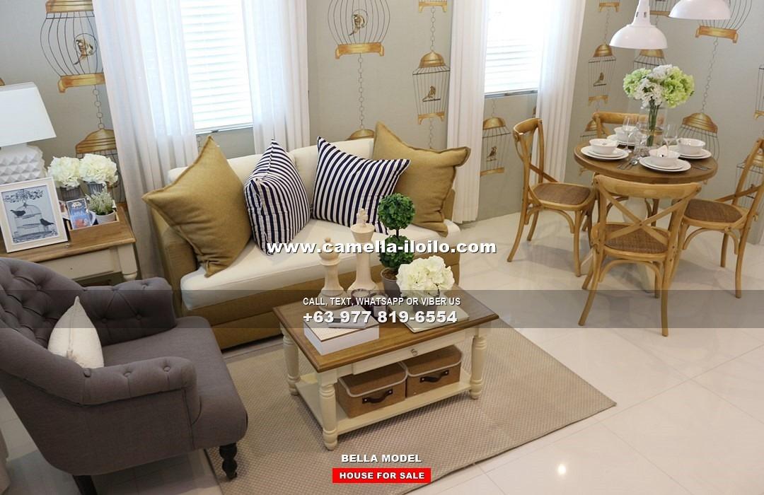 Bella House For Sale In Iloilo Camella Iloilo