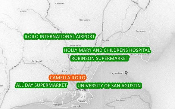 Iloilo Property Vicinity Map