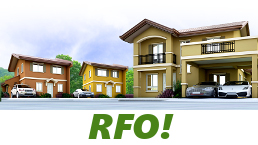 RFO Units for Sale in Camella Iloilo.